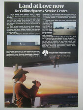 4/1977 PUB ROCKWELL COLLINS SYSTEMS SERVICE CENTER ADDISON LOVE FIELD AD