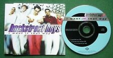 Backstreet Boys I Want it That Way CD Single