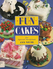 Ann Nicol Cake Decorating Book Fun Cakes for Special Occasions Softcover