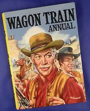 Wagon Train TV Annual copyright 1959 - Artist Signed