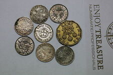 UK GB 3 PENCE LOT MANY SILVER COINS A60 GG1