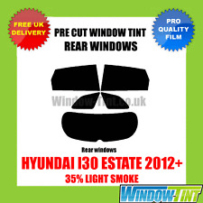 HYUNDAI I30 ESTATE 2012+ 35% LIGHT REAR PRE CUT WINDOW TINT
