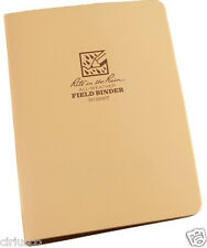 "Rite in the Rain All-Weather 1/2"" Field Ring Binder 9200T - Tan"