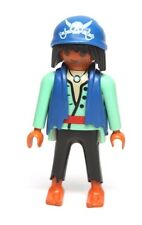Playmobil Figure Ethnic Pirate Ragged Clothes Blue Headwrap 3127 4432