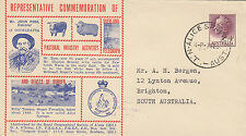 Stamp Royal Geographical Society Queensland Pastoral Industry Activities cover