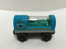 Thomas & Friends Wooden Railway Sodor Aquarium Shark Car Light Up