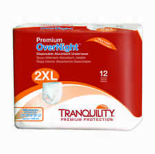 Tranquility OverNight Disposable Underwear  XX-Large Case of 48 #2118