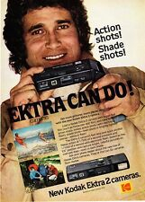 1978 Actor Michael Landon photo Kodak Ektra 2 Camera promo print ad