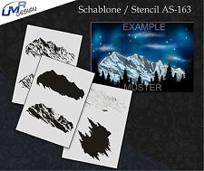 Step by Step Airbrush Schablone AS-163 M ~ Tattoo Stencil ~ UMR-Design