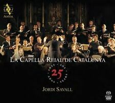 La Capella Reial de Catalunya: 25 Years Super Audio Hybrid CD (NEW 4CDs 2013)