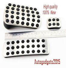 NEW Stainless Steel Sport Pedal Pads set for Mercedes Benz M GL R Class AMG