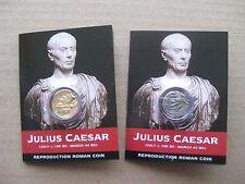 Giulio Cesare Medaglia Pack-Denarius e Aureus
