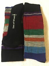 Two Pair Of Smartwool Merino Wool  Saturnsphere Socks Size Medium  Free Shipping