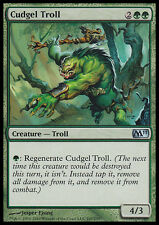 MTG 2x CUDGEL TROLL - TROLL COL RANDELLO - M11 - MAGIC