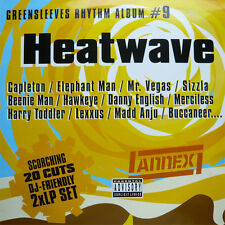 2 x LP UK DANCEHALL**GREENSLEEVES RHYTHM ALBUM #9 - HEATWAVE***4704