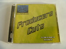 PRODUCERS CUTS UNITY RARE LIBRARY SOUNDS MUSIC CD