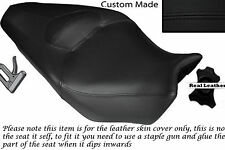 BLACK STITCH CUSTOM FITS HONDA VFR 1200 F 09-13 DUAL SEAT SADDLE COVER