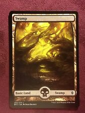 Battle for Zendikar Full Art Land  Swamp #260  VO  -  MTG Magic (Mint/NM)