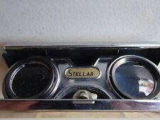 Vintage Japan Stellar Focal Fold Down Opera Pocket Binoculars 2.5x