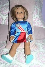American Girl Doll Just Like Me/Strawb-Blonde short hair with brown eyes..Excl