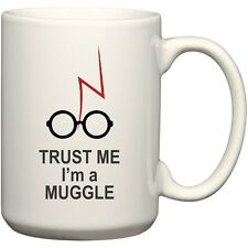 Beegeetees Trust Me I'm A Muggle Harry Potter Coffee Mug For Wizards (15 Oz) 0