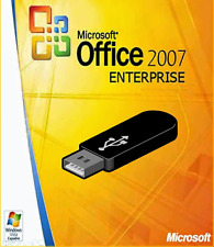 Microsoft Office 2007 License 1 PC + USB Flash Drive