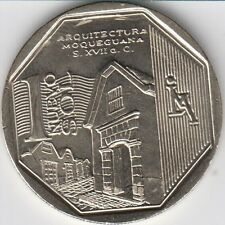 "Peru 1 Nuevo Sol 2015 ""Wealth and Pride of Peru"" Moquegua architecture Unc"