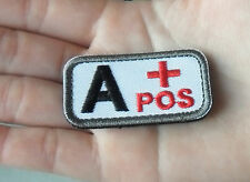 Blood Type IR Style Military Tactical Velcro Patch  SK   419