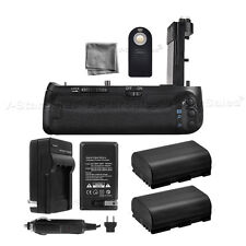 Battery Grip for Canon EOS 7D MKII BG-E16 + 2x LPE6 Batteries + Charger Kit