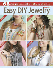 EASY DIY JEWELRY BOOK 2-Glass Beads/Beaded/Beading-Wire-Chain-Cords-Craft Ideas