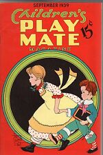 1939 Play Mate September with Fern Bisel Peat Paperdoll - Heidi of Switzerland