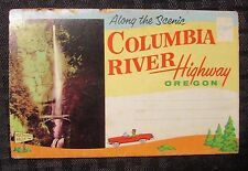 Along The Scenic COLUMBIA RIVER Highway - Oregon 14 PHOTO Mirro-Chrome Mailer