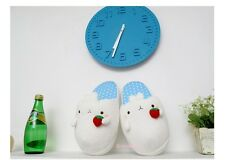 Molang Slipper Cute Rabbit Plush Blue Color Slipper-US 5~7