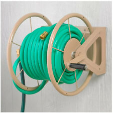 Landscaping Garden Care Hose Reel 200-Foot Hose Capacity Lawn Water Wall Mount