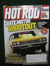 Hot Rod Magazine 2008 October Crate Motor Shootout! & New Factory Drag Car ++