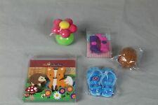 5 Radiergummi + Spitzer , Spaßartikel - Fun Collection - Neu + unbenutzt   /S97