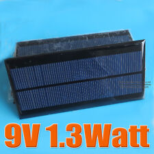 9V 150mA 1.3W mini solar Panel small solar cell solar module education DIY Kit