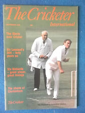 The Cricketer International September 1978 magazine. Ray Illingworth on cover