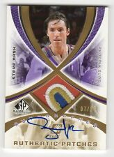 2005-06 Upper Deck SP Game Used Edition Steve Nash Auto Patch #7/25