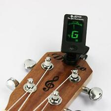 New LCD Clip-On Electronic Digital Guitar Chromatic-Bass Violin Ukulele Tuner