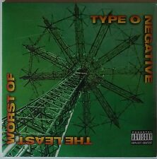 Type O Negative - The Least Worst Of 2LP NEU/SEALED gatefold sleeve