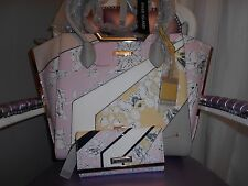 RIVER ISLAND PERFECT GIFT FLORAL WINGED TOTE BAG & MATCHING PURSE BNWT