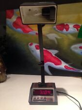Vintage Digital Spartus Alarm Clock With Light