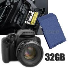 32GB Secure Digital High Capacity Class 10 Flash Memory Card For Digital Camera