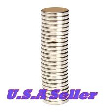 25PCS 12mm X 2mm Strong Round Disk Rare Earth Magnets Neodymium N52 U.S SHIPPED