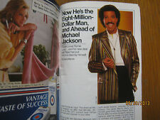 1985 TV Guide (LIONEL  RICHIE/STAR  TREK/CATHERINE  HICKLAND/MacGRUDER  &  LOUD)