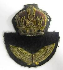 WW2 RAF Officer Cap Badge WWII Hat private purchase Kings Crown Royal Air Force
