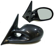 CARBON FIBRE LOOK M3 STYLE WING MIRRORS FOR BMW E46 3 SERIES COUPE & CONVERTIBLE