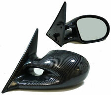 CARBON FIBRE LOOK M3 STYLE WING MIRRORS FOR PEUGEOT 306 1993-2002 NICE GIFT