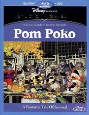 Pom Poko (Blu-ray/DVD, 2015, 2-Disc Set)
